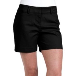 The Limited NWT Flat Front Tailored Black Shorts